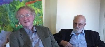 Harry Serio and Eliot Pattison